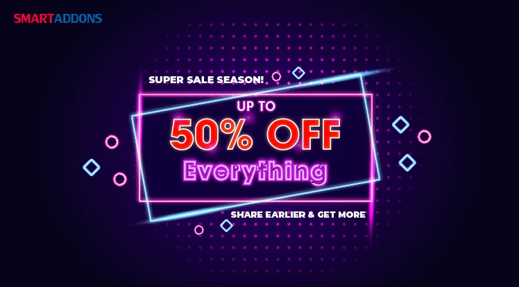 [Super Sale] Up to 50% OFF Storewide on Thanksgiving, Black Friday & Cyber Monday