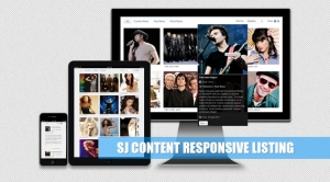 SJ Content Responsive Listing - Joomla! Module