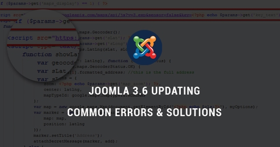 Common Errors When Updating SmartAddons Templates to Joomla 3.6 & Solutions