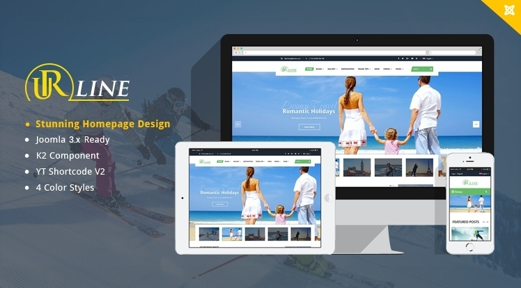 SJ Urline - An Innovation for Travel News & Magazine Joomla Template