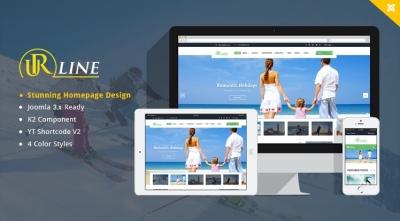 SJ Urline - An Innovation for Travel News & Magazine Joomla Template