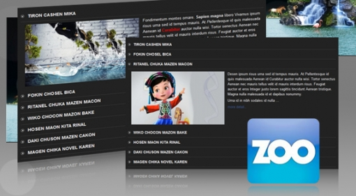 SJ Accordion for Zoo - Joomla! Module