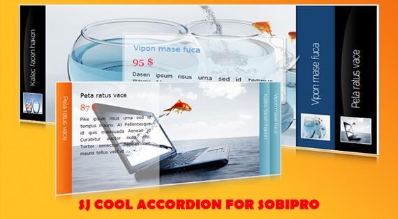 SJ Cool Accordion for SobiPro - Joomla! Module