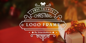 Retouch Your Logo with SmartAddons Xmas Frames