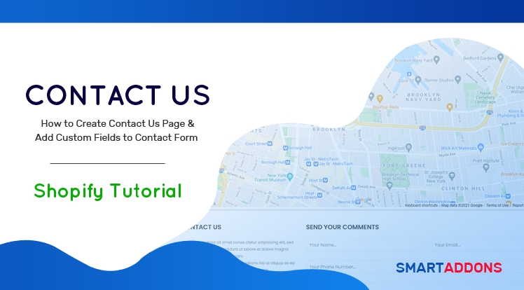 How to Create Contact Us Page & Add Custom Fields to Contact Form in Shopify