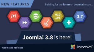 Joomla! 3.8 Release - New Routing System & Joomla! 4 Compatibility Layer