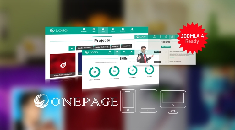SJ Onepage - Responsive Joomla Onepage Template