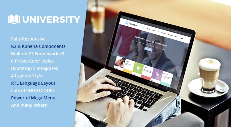 SJ University II - Responsive Joomla Educational Template