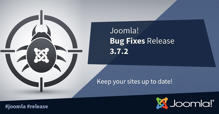 Joomla! 3.7.2 Bug Fixes Release