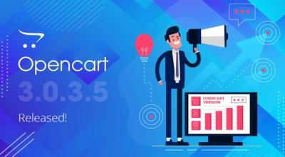 OpenCart 3.0.3.5 Release