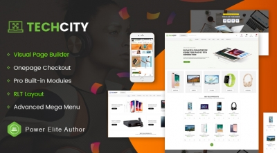 TechCity - Premium Digital, SaaS, Apps & Electronics Opencart 3 Theme