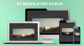 SJ Newsletter Popup - Free Responsive Joomla! Module