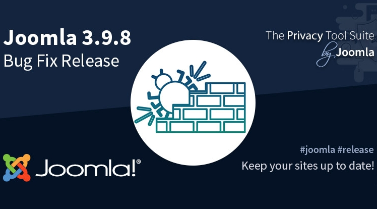 Joomla! 3.9.8 Bug Fix Release