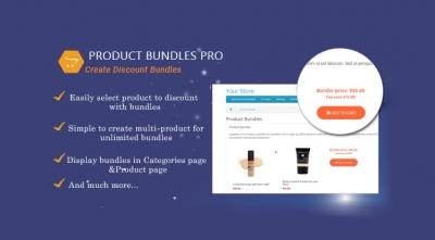 Product Bundles Pro - Responsive Module for OpenCart 3
