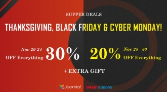 Thanksgiving, Black Friday & Cyber Monday 2017 Sale: Up to 35% OFF Storewide