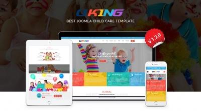 SJ Uking - Premium Adorable Joomla Template For Kindergarten