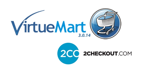 2Checkout is Integrated into New Virtuemart Version 3.0.14