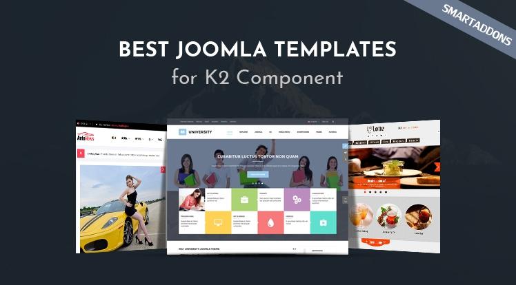 Best Joomla Templates for K2 Component in 2021