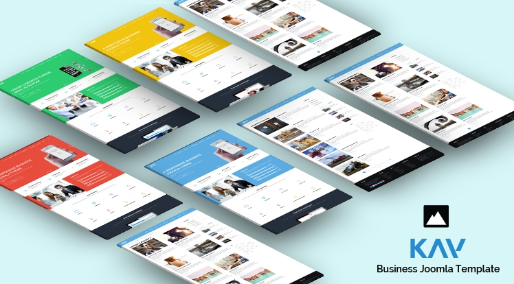 SJ Kay - Responsive Joomla Business Template