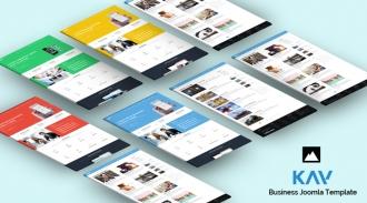 SJ Kay - Responsive Joomla Business Template